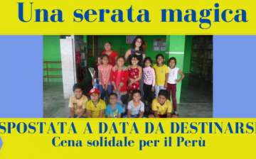 SPOSTATO EVENTO Una serata magica per il Perù